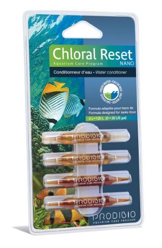 Traitement de l'eau - Prodibio Chloral reset nano 4 ampoules 108832