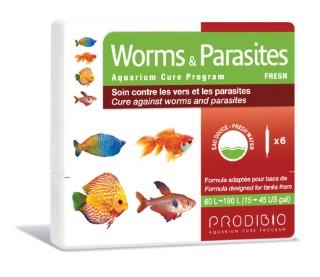 Soin - Prodibio Worms & Parasites Eau douce - 6 ampoules  108838