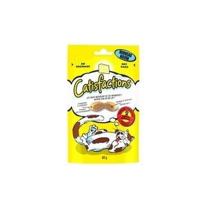Friandises Catisfactions Fromage 60gr 115086