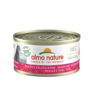 Boîte Chat - Almo nature® poulet et foie 70 g 129297