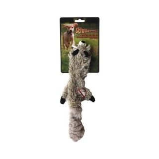 Jouet chien peluche Skinneeez raton laveur 34cm 14497