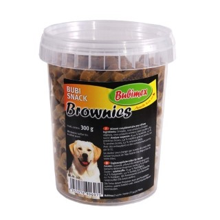 Friandises Chien - Bubimex Bubi snacks Brownies 300g 15180