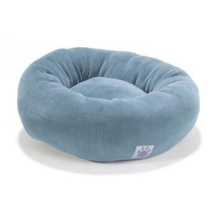 Coussin Donut Bed bleu D50cm pour chat ou petit chien 152517