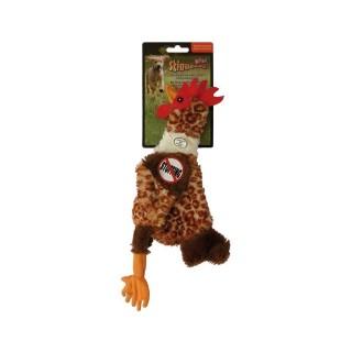Jouet chien peluche Skinneeez poule 34cm 153753