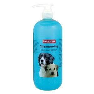 Shampooing doux tous pelages chiens Beaphar® 155999