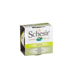 Boîte Chat - Schesir® Thon + bouillon 70g 159198