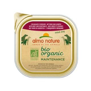 Boîte Chien - Bio Pâté Bœuf / Légumes 300g Almo Nature® 160266