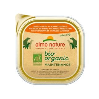 Boîte Chien - Bio Pâté Poulet / Patate 300g Almo Nature® 160268