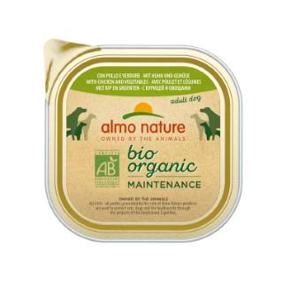 Boîte Chien - Bio Pâté Poulet / Légumes 300g Almo Nature® 160269