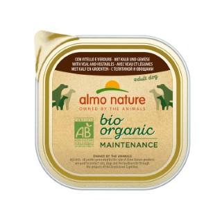 Boîte Chien - Bio Pâté Veau / Légumes 300g Almo Nature® 160270