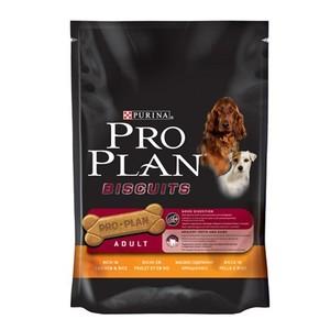 Friandise chien adulte Biscuit poulet et riz Pro Plan 400g 178980
