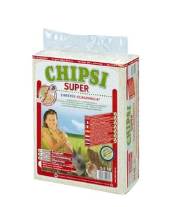 Litière Chipsi Super 3.4kg 179033
