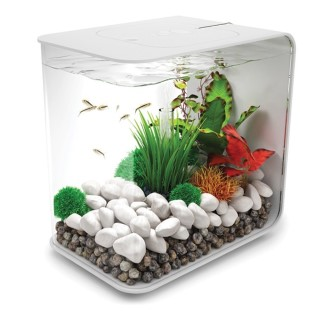 Aquarium biOrb 15L FLOW Blanc 184067