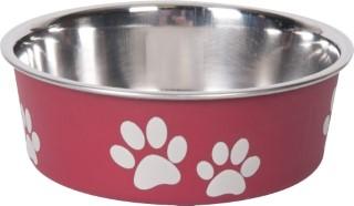 Gamelle chien - Bella rouge - 12 cm 193487