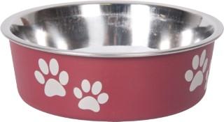 Gamelle chien - Bella rouge - 21 cm 193490