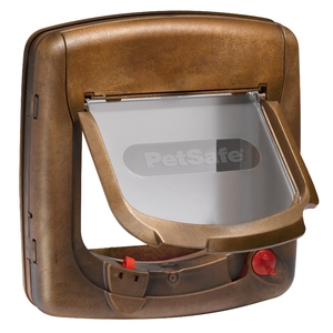 Chatière magnétique luxe Staywell brun – PetSafe 195437