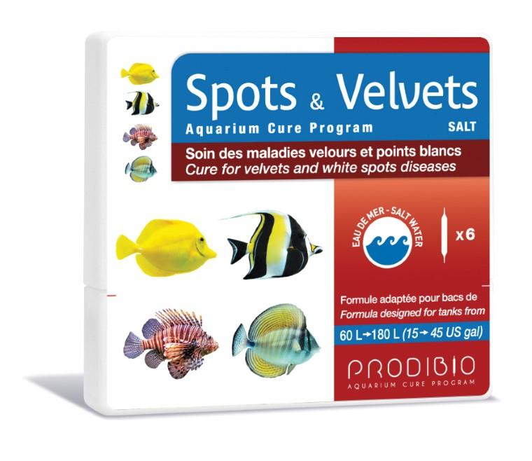 Soin - Prodibio Spots & Velvets Eau de mer - 6 ampoules  108834