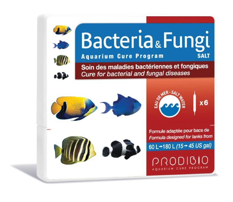 Soin - Prodibio Bacteria & Fungi Eau de mer - 6 ampoules  108836