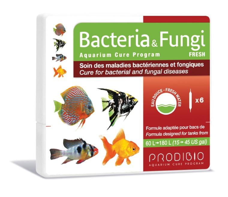 Soin - Prodibio Bacteria & Fungi Eau douce - 6 ampoules  108839