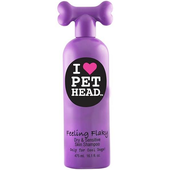 Shampooing pour chien spécial peaux sèches Feeling Flaky Pethead 475 ml 109552