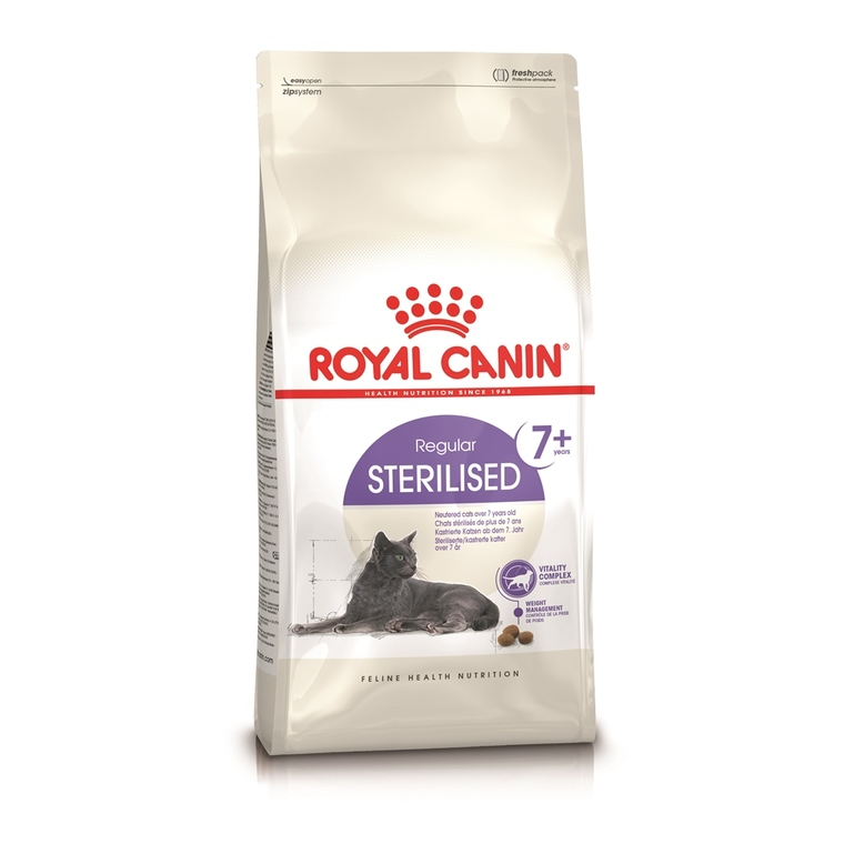 Croquette chat - Royal Canin chat Sterilised 7+ 3,5kg 114421