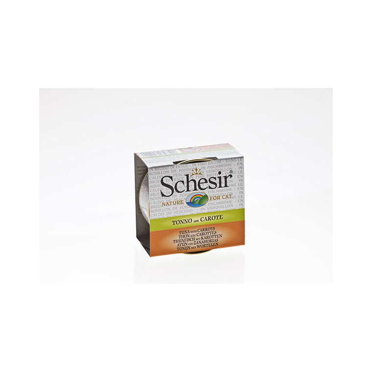 Boîte Chat - Schesir® Thon Carotte + bouillon 70 g 114674