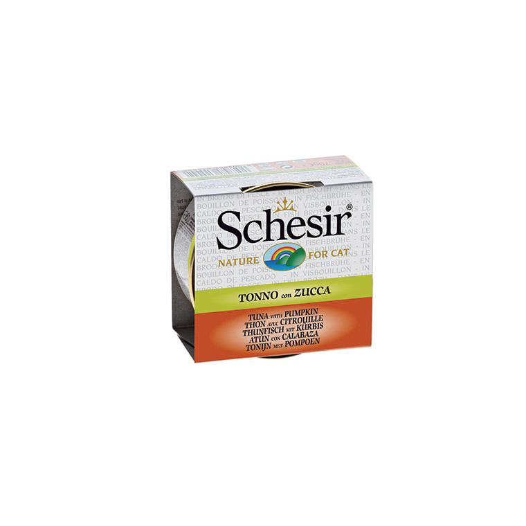 Boîte Chat - Schesir® Thon Citrouille + bouillon 70 g 114675