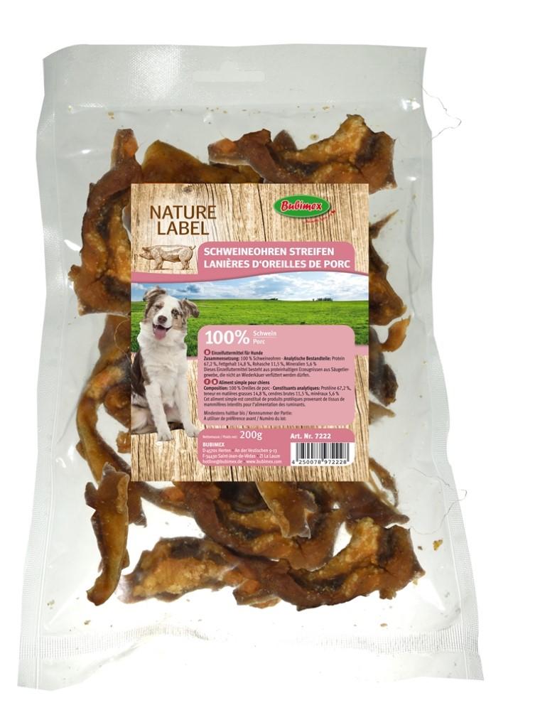 Friandises Chien - Bubimex Chips d'oreilles de porc 200g 116834