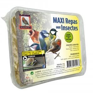 Maxi repas pour oiseaux aux insectes 134419
