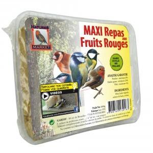 Maxi repas pour oiseaux aux fruits rouges 134422