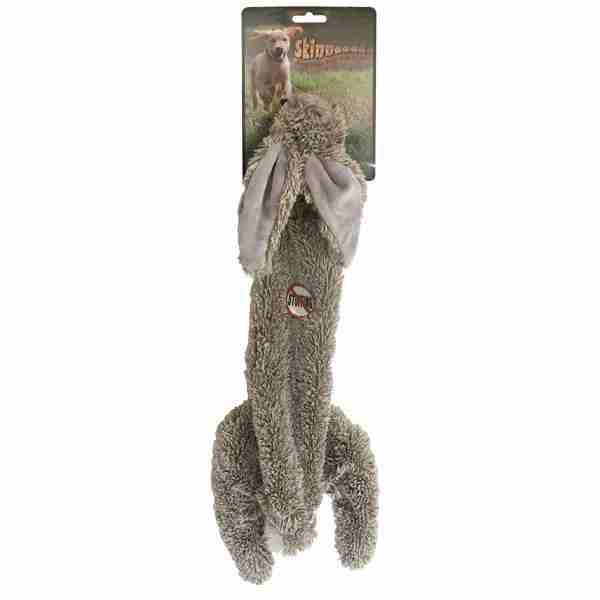 Jouet chien peluche Skinneeez lapin 60cm 14491