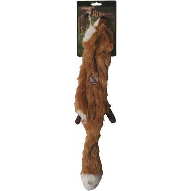 Jouet chien peluche Skinneeez renard 60cm 14492
