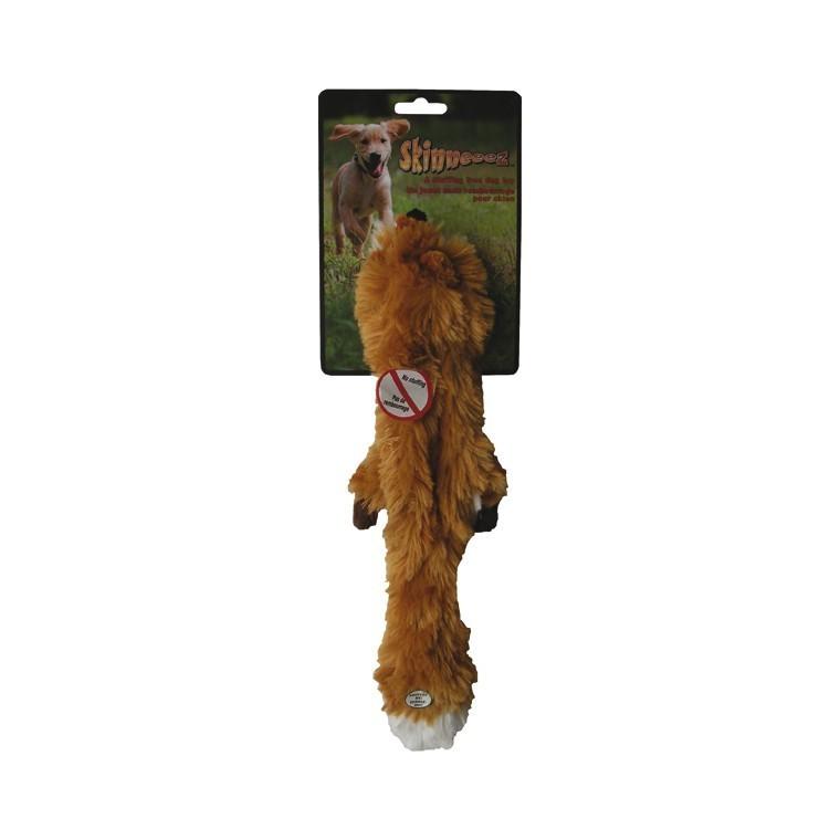 Jouet chien peluche Skinneeez renard 34cm 14495