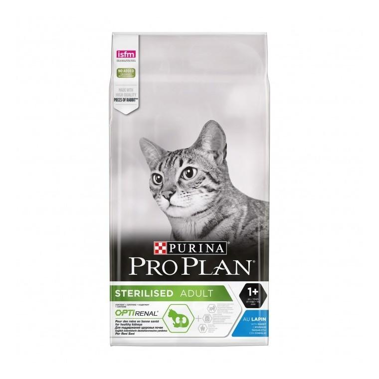 Croquette chat Pro Plan chat stérilisé lapin 3 kg 157755