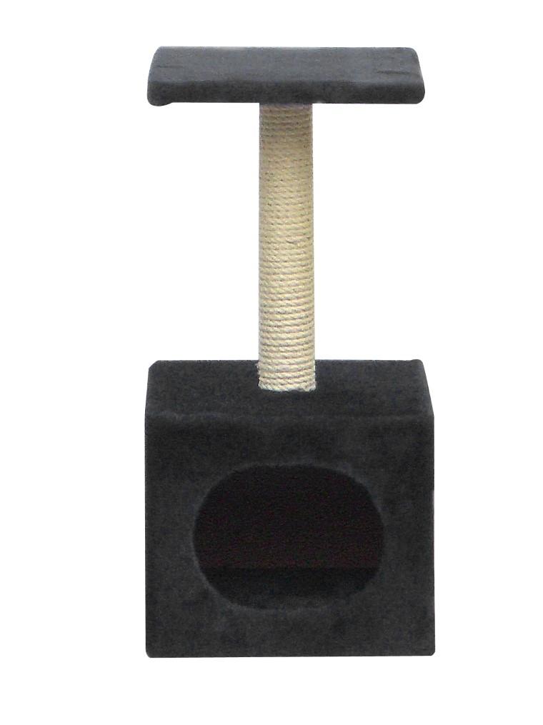 Arbre à chat Abey Noir - 30 x 30 x 60 cm 167850