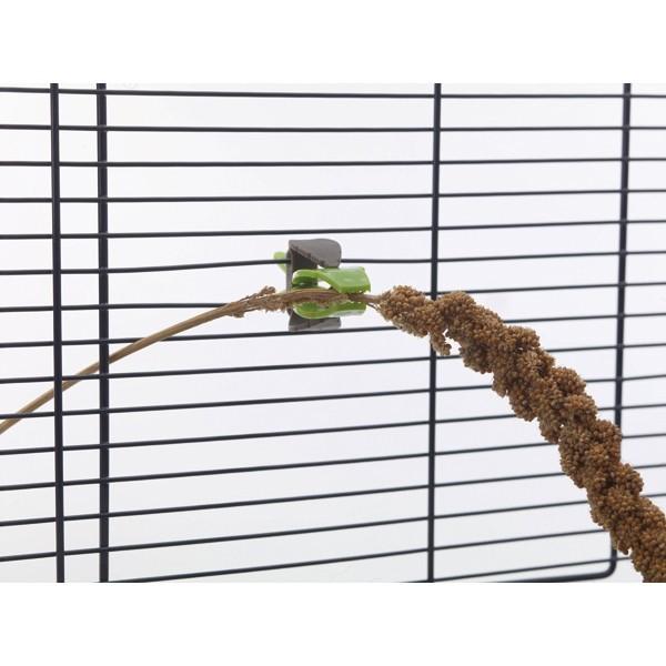 Pinces universelles x2 pour cages Savic 168047