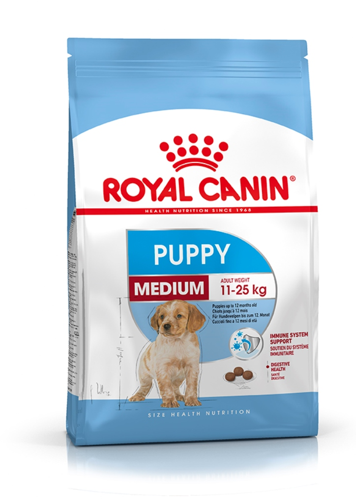Croquette chiot Royal Canin Medium puppy 4kg 177469