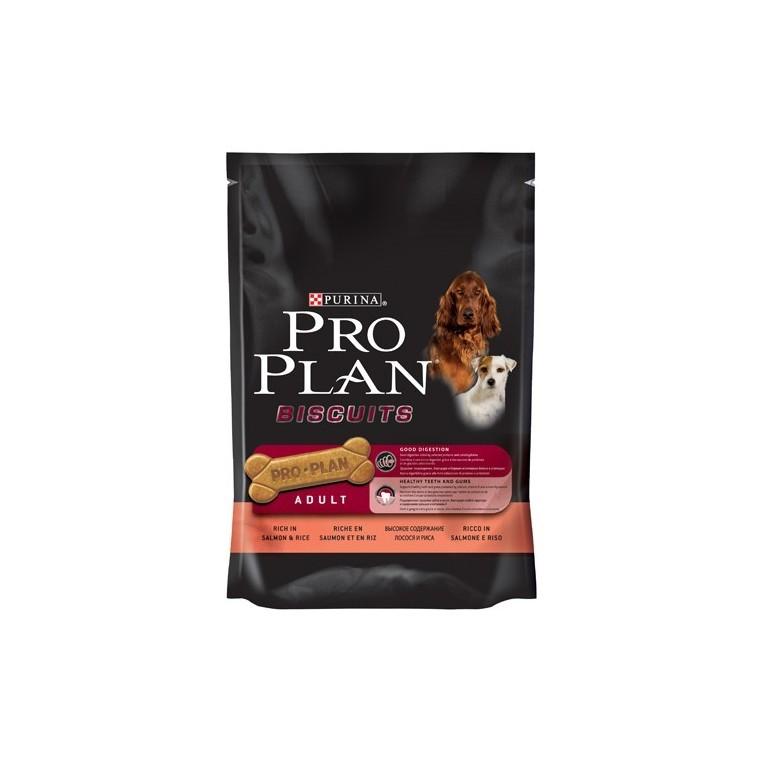 Friandise chien adulte saumon riz Pro Plan 400g 178982