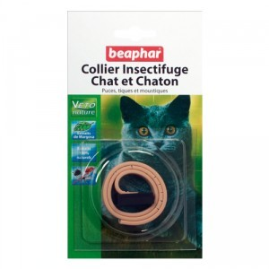Collier insectifuge beige chats/chatons Beaphar® 179927