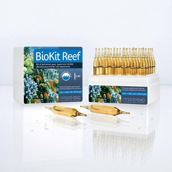 Traitement de l'eau - Prodibio BioKit Reef - 30 ampoules 187902