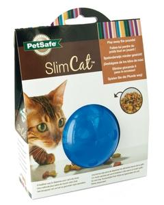 Jouet Chat - Balle distributrice SlimCat™ bleue 15542