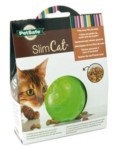 Jouet Chat - Balle distributrice SlimCat™ verte 15543