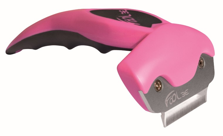 FoOlee One Brosse Chien S - Small Rose 187525