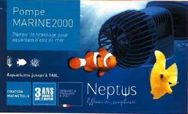Pompe NEPTUS Marine 2000