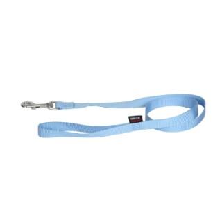 Laisse Nylon Uni pour chat coloris bleu - 120 cm 210803
