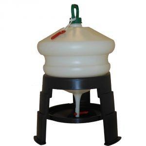 Abreuvoir sur trépieds poule en plastique 20 litres 210942