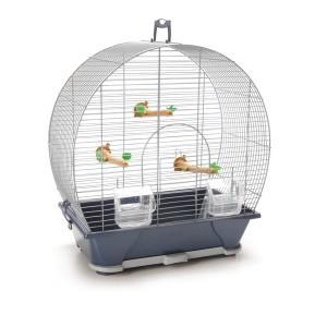 Cage oiseaux Evelyne 40 argent Savic 21901