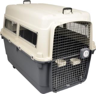 Panier de transport chien nomade gris - Taille XXL 100 x 70 x 75 cm 226021