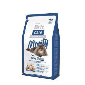 Croquettes chat intérieur - Brit Care Cat Monty I'm Living Indoor - 2kg 234354