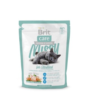 Croquettes Chat - Brit Care Cat Missy pour Chat stérilisé 0,4kg 234360